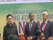 Trump, Obama và Kim Jong-un  gây náo loạn Hồng Kông