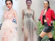 Thời trang - Angela Phương Trinh, Thúy Vân sexy với váy mỏng như sương