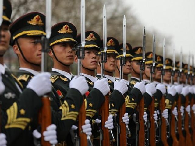 TQ điều 15 vạn quân giáp biên giới Triều Tiên