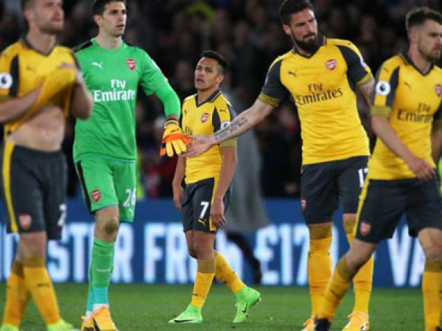 Thua thảm, dàn sao Arsenal bị gọi là
