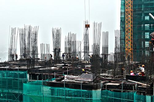 An Bình City vượt tiến độ, chính thức cất nóc tòa A5 - 1