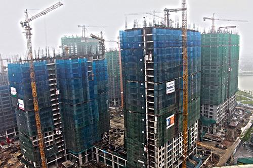 An Bình City vượt tiến độ, chính thức cất nóc tòa A5 - 2