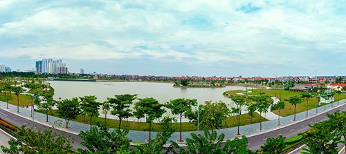 An Bình City vượt tiến độ, chính thức cất nóc tòa A5 - 3