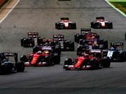 Lịch thi đấu đua xe F1: 21 chặng năm 2018