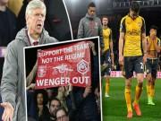 """Bóng đá - Arsenal 90% hụt top 4: Wenger là """"kẻ mê sảng"""""""