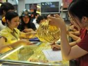 Tài chính - Bất động sản - Vì sao vàng thế giới đội giá, vàng trong nước đứng im?