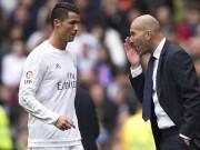 Bóng đá - Real: Ronaldo tịt ngòi gần 16.000 giây, Zidane sợ lờ đi