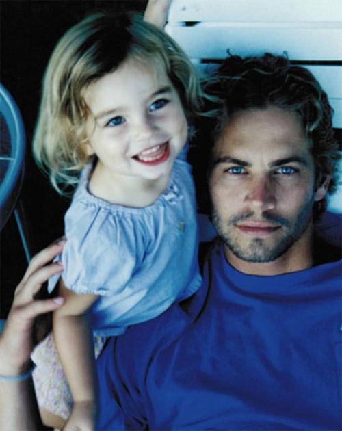 Nghẹn lời vì con gái người mẫu cố tài tử Fast & Furious - 1