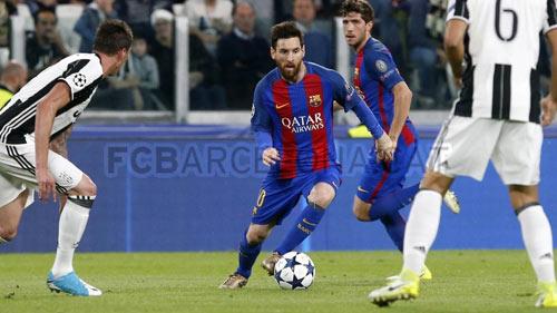 """Barca thua sấp mặt: Vì La Masia, Messi và... """"đồ bỏ"""" Alves - 2"""