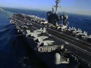 """Thế giới - Sức mạnh siêu tàu sân bay Mỹ điều đi """"dằn mặt"""" Triều Tiên"""