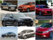 Những ô tô hạ giá đáng mua nhất đầu 2017