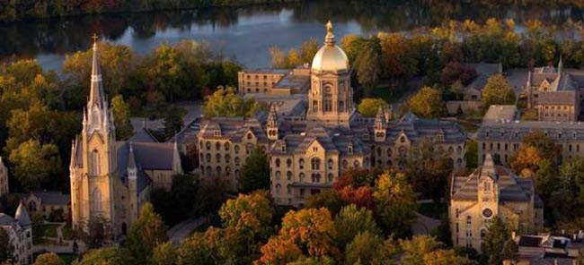 1. Đại học Notre Dame, Idaho, Mỹ