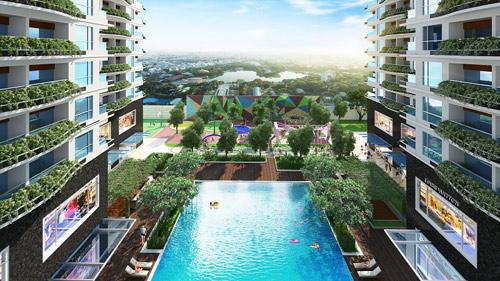 """Khu Tây Sài Gòn """"dậy sóng"""" căn hộ xanh chuẩn Mỹ - 2"""