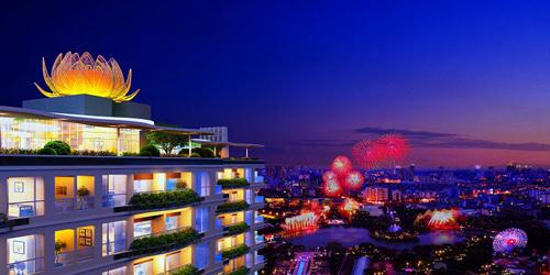 """Khu Tây Sài Gòn """"dậy sóng"""" căn hộ xanh chuẩn Mỹ - 3"""