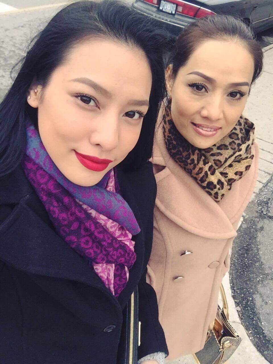 Bất ngờ vì mẹ Lilly Nguyễn quá trẻ đẹp, gợi cảm - 5