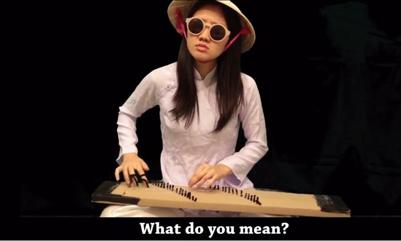 """Cô gái """"Thầy bói"""" hát What do you mean phong cách cải lương là ai? - 1"""