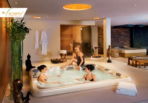 Hưởng thụ spa tại nhà cùng bồn tắm massage - 1