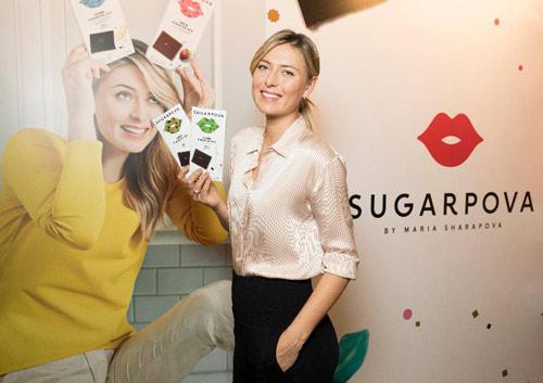 Sharapova xinh còn cực giàu: Bán kẹo kiếm 400 tỷ VNĐ - 1