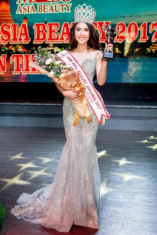 Nhan sắc thực của Hoa khôi Phú Yên vừa đăng quang Miss Asia - 1