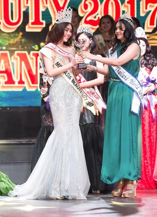 Nhan sắc thực của Hoa khôi Phú Yên vừa đăng quang Miss Asia - 7