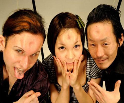 Dân tình choáng nặng vì trán kỳ dị của gái đẹp Nhật Bản - 3