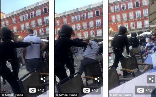 """Hooligan quấy rối: Cảnh sát ra tay, Leicester """"méo mặt"""" - 5"""