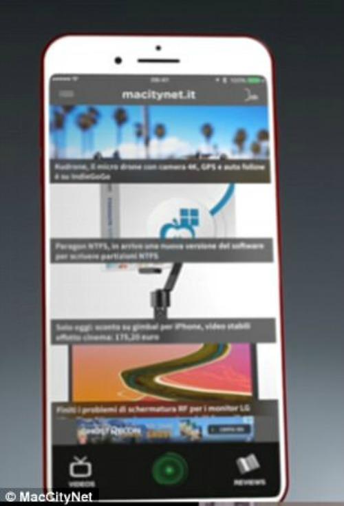 Video: iPhone 8 không nút Home khiến bạn phải móc ví - 4