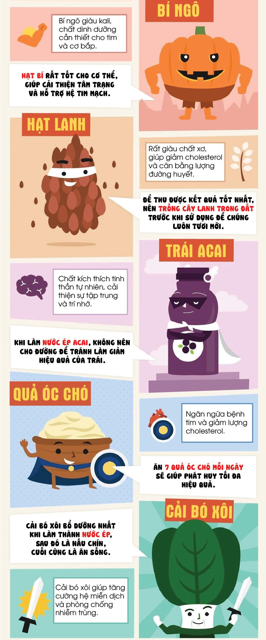 """Top siêu thực phẩm """"điểm 10"""" cho sức khỏe - 4"""