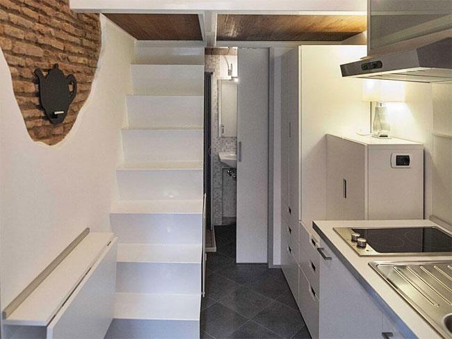 Nội thất đáng kinh ngạc trong căn hộ vỏn vẹn 7m2 - 4
