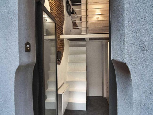 Nội thất đáng kinh ngạc trong căn hộ vỏn vẹn 7m2 - 5