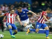 Bóng đá - Atletico Madrid - Leicester: Quả 11m gây tranh cãi