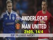 Bóng đá - Anderlecht – MU: Sinh mệnh của Mourinho