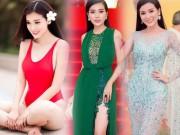 """Thời trang - Kiều nữ Việt """"ê chề"""" vì váy xẻ quá khứ còn mặc """"bạo"""" hơn"""