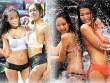 Dù bị cấm, nam nữ Thái vẫn mặc sexy đi té nước Songkran