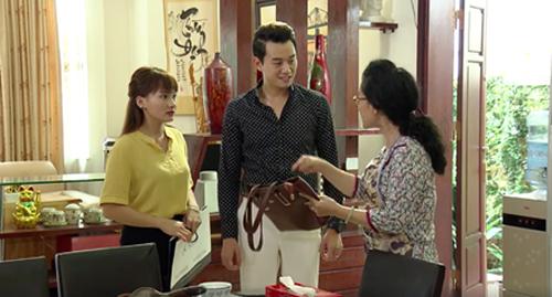 Sững người trước phản ứng lạ của mẹ chồng ghê gớm nhất phim Việt - 1