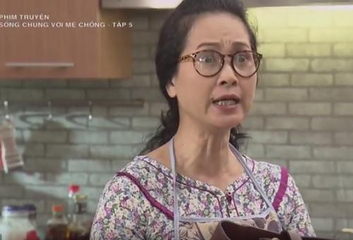 Sững người trước phản ứng lạ của mẹ chồng ghê gớm nhất phim Việt - 2