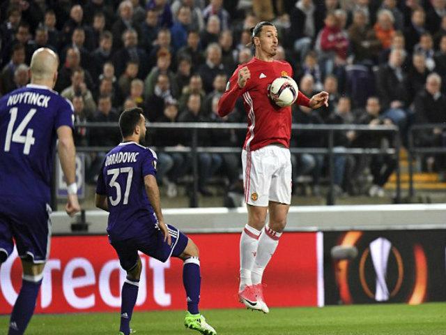 Góc chiến thuật Anderlecht – MU: