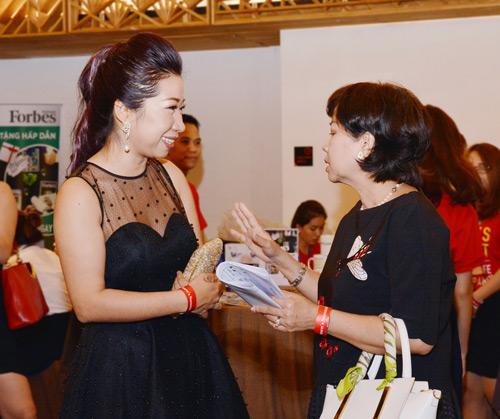 Tuyệt phẩm vòng cổ ngọc trai gây chú ý tại Forbes Women's Summit 2017 - 5