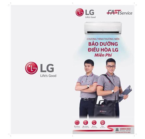 LG bảo dưỡng điều hòa miễn phí cho khách hàng - 2