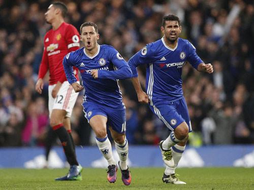 """Ngoại hạng Anh trước vòng 33: MU lại """"cống nạp"""" Chelsea? - 1"""
