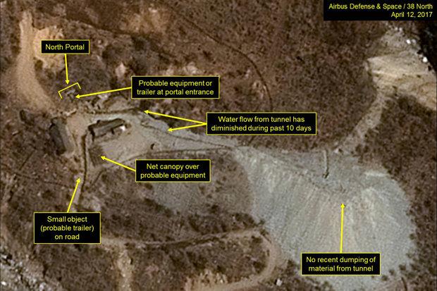 Ảnh vệ tinh khẳng định Triều Tiên sẽ thử bom hạt nhân - 1
