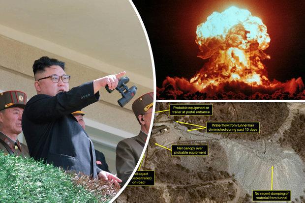 Ảnh vệ tinh khẳng định Triều Tiên sẽ thử bom hạt nhân - 2