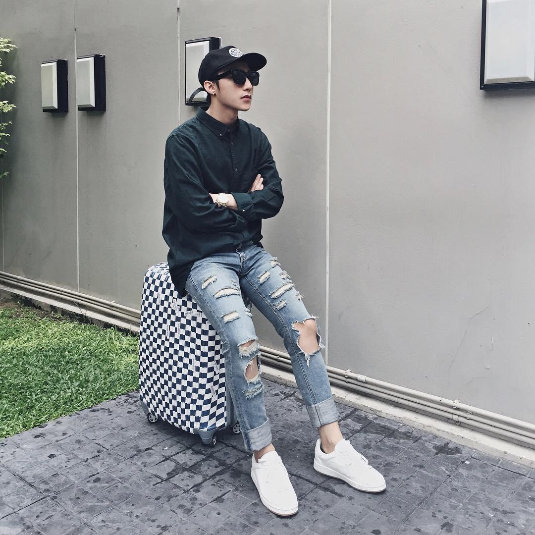 """Ngoài style bảnh bao, Noo Phước Thịnh lắm lúc cũng """"rách rưới"""" - 8"""