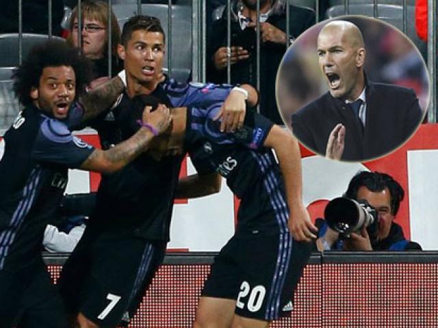 """Real thời Zidane: """"Quái vật 2 mặt"""" & chuyện """"số đỏ"""""""
