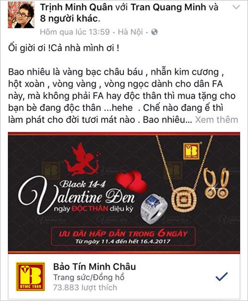 Sao Việt làm gì vào ngày Valentine Đen – 14/4? - 3