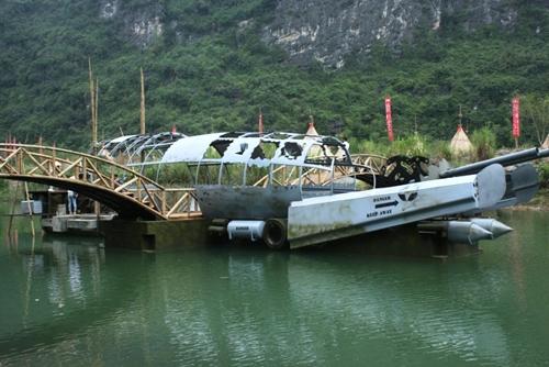 """""""Đột nhập"""" phim trường Kong: Đảo đầu lâu ở Ninh Bình - 2"""