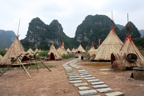 """""""Đột nhập"""" phim trường Kong: Đảo đầu lâu ở Ninh Bình - 1"""