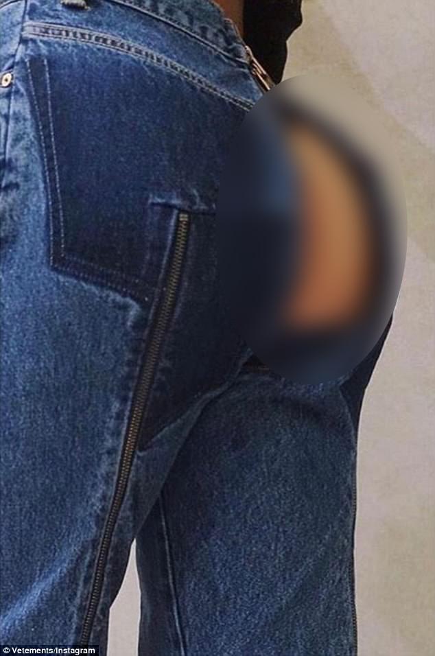 """Dân tình phát """"sốt"""" trước mẫu jeans rách mông giá 43 triệu - 1"""