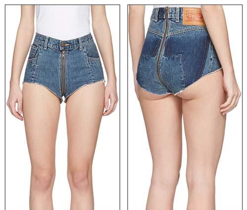"""Dân tình phát """"sốt"""" trước mẫu jeans rách mông giá 43 triệu - 3"""
