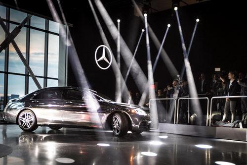 Mercedes-Benz S-Class 2018 lộ diện ở New York - 3